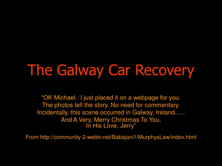 the galway car recovery n.