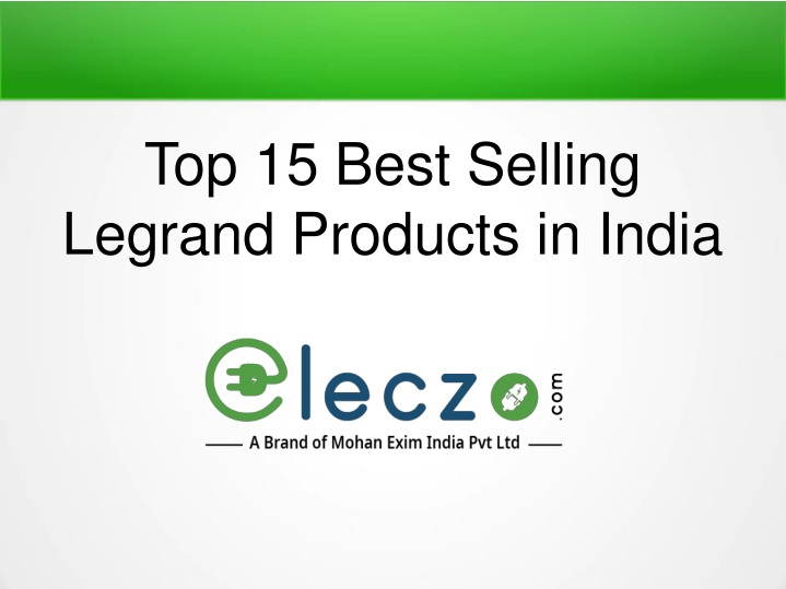 top 15 best selling legrand products in india n.