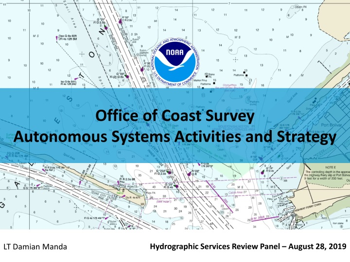 office of coast survey autonomous systems activities and strategy n.