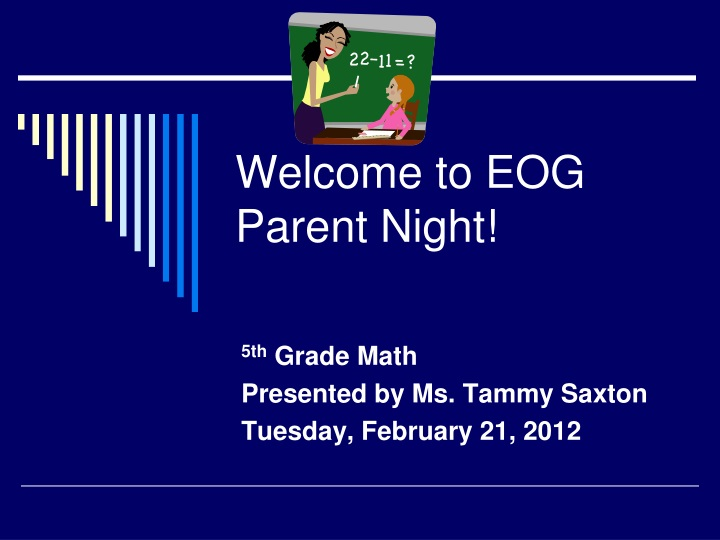 welcome to eog parent night n.