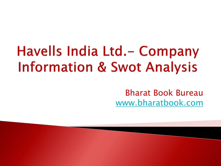 havells india ltd company information swot analysis n.