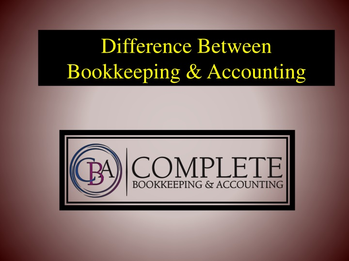 difference between bookkeeping accounting n.