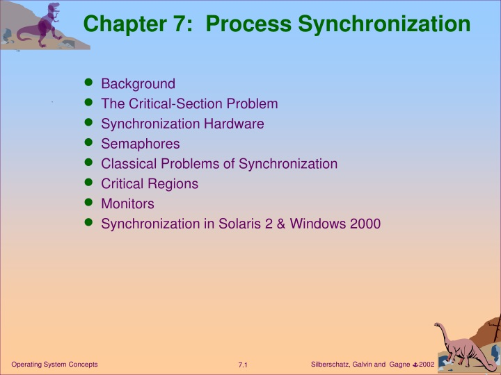 chapter 7 process synchronization n.