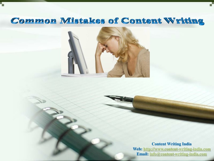 common mistakes of content writing n.
