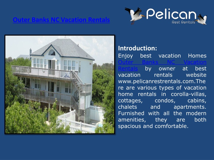 outer banks nc vacation rentals n.