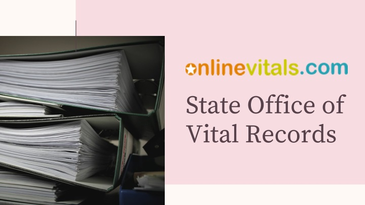 state office of vital records n.