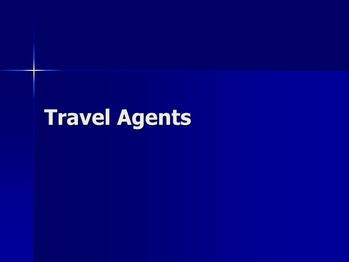 travel agents n.