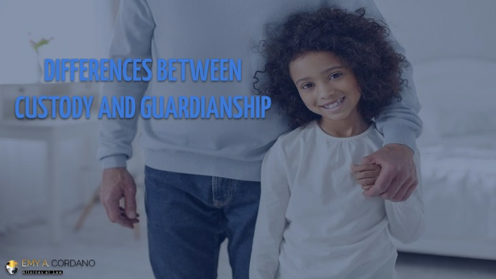 differences between custody and guardianship n.
