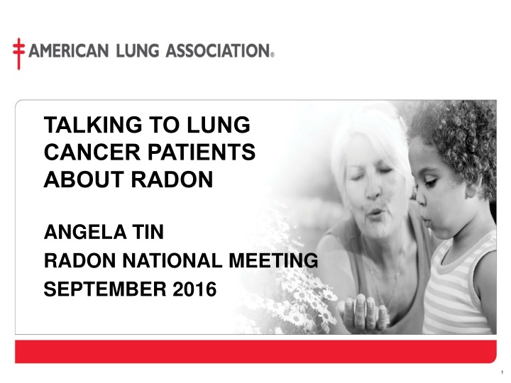 talking to lung cancer patients about radon n.