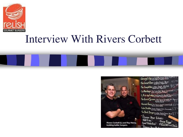 interview with rivers corbett n.