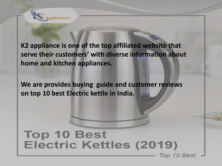 k2 appliance is one of the top affiliated website n.