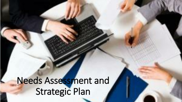needs assessment and strategic plan n.