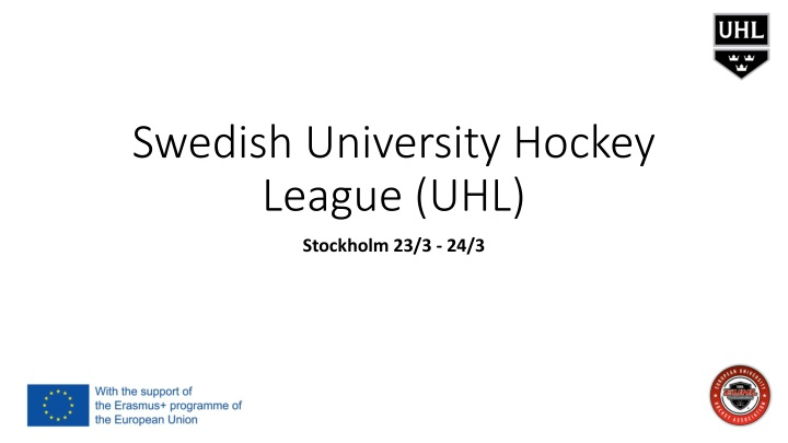 swedish university hockey league uhl n.