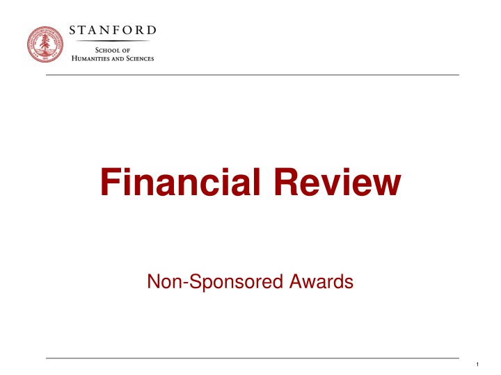 financial review n.