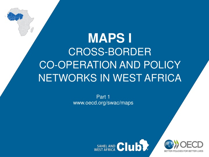 maps i cross border co operation and policy networks in west africa n.