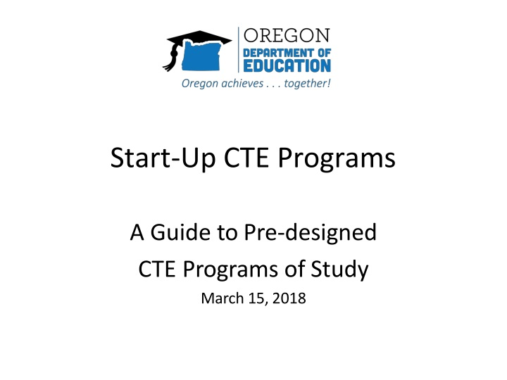 start up cte programs n.