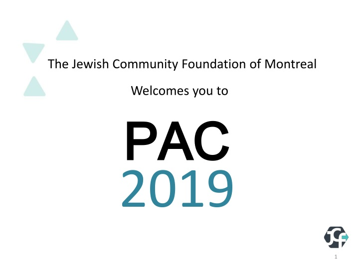 the jewish community foundation of montreal n.