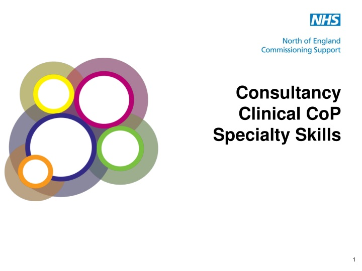 consultancy clinical cop specialty skills n.