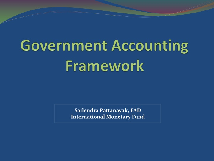 government accounting framework n.