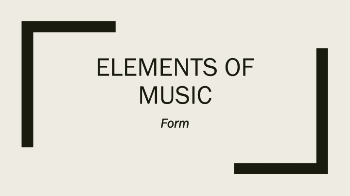 elements of music n.