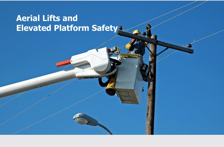 aerial lifts and elevated platform safety n.