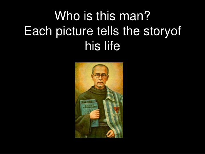 who is this man each picture tells the storyof his life n.