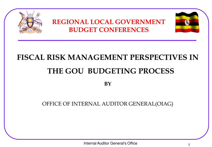 regional local government budget conferences n.