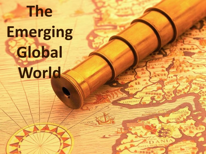 the emerging global world n.