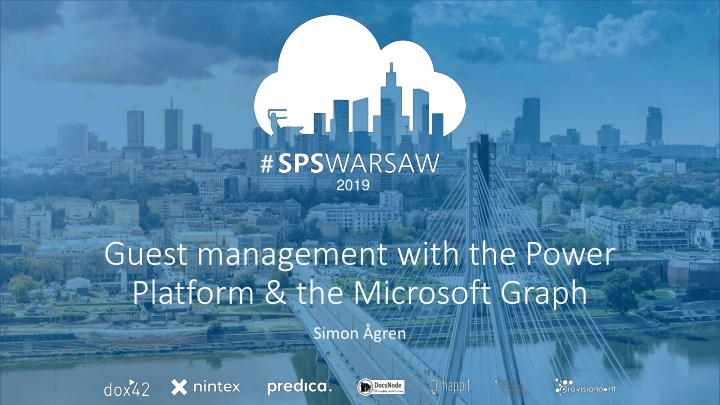 guest management with the power platform the microsoft graph n.