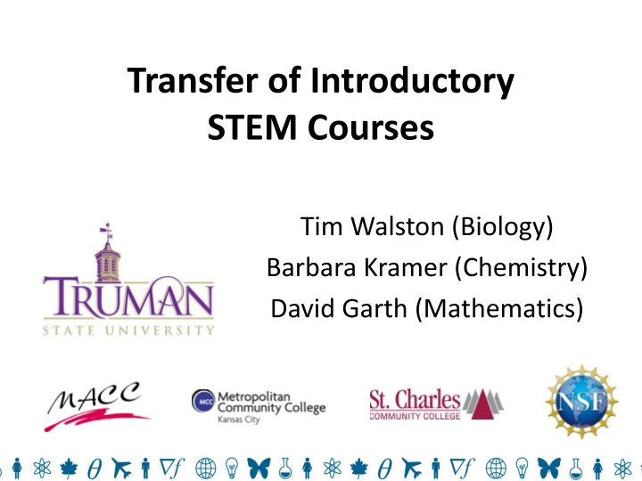transfer of introductory stem courses n.