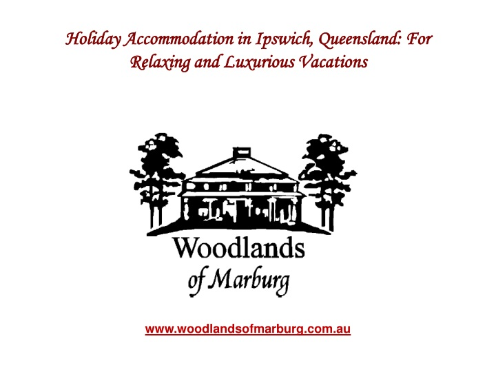 holiday accommodation in ipswich queensland n.