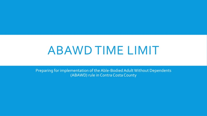abawd time limit n.