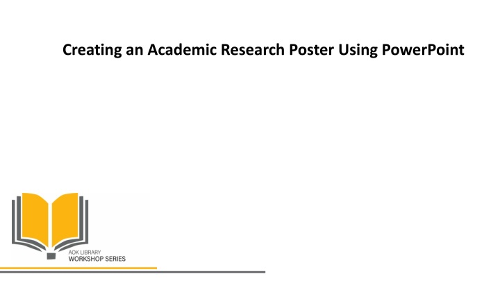 creating an academic research poster using powerpoint n.