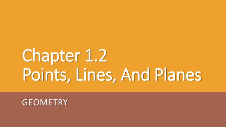 chapter 1 2 points lines and planes n.