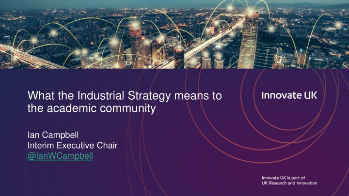 what the industrial strategy means to the academic community n.