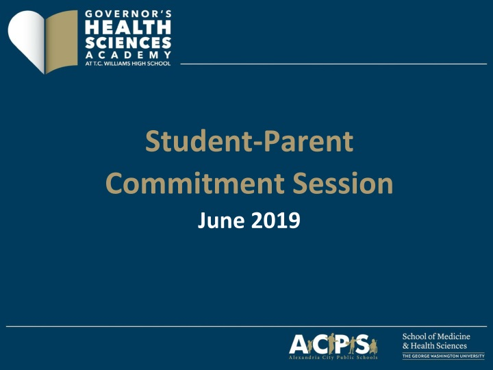 student parent commitment session june 2019 n.