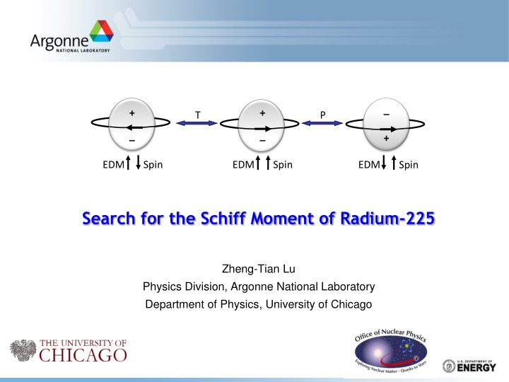 search for the schiff moment of radium 225 n.