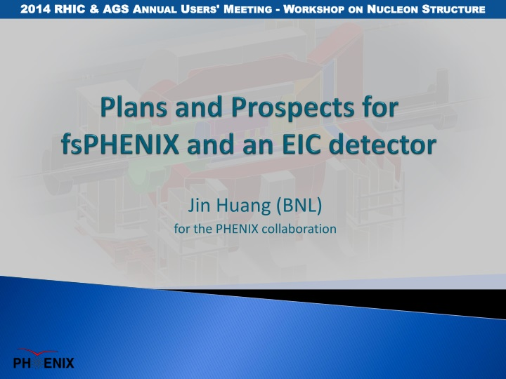 plans and prospects for fsphenix and an eic detector n.