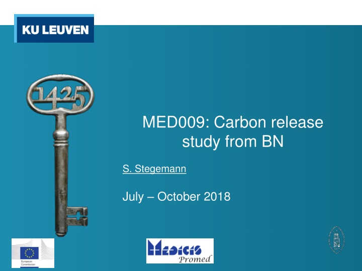 med009 carbon release study from bn n.