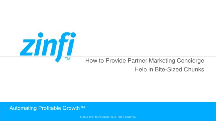 automating profitable growth n.