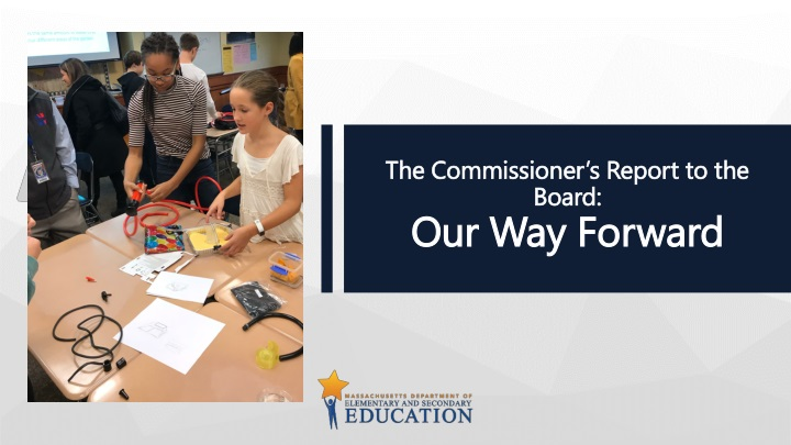 the commissioner s report to the board our way forward n.