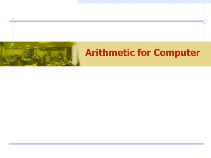 arithmetic for computer n.