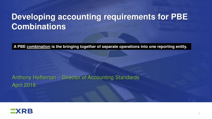 developing accounting requirements for pbe combinations n.
