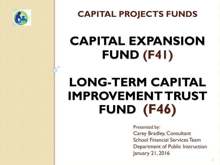 capital projects funds capital expansion fund f 41 long term capital improvement trust fund f46 n.