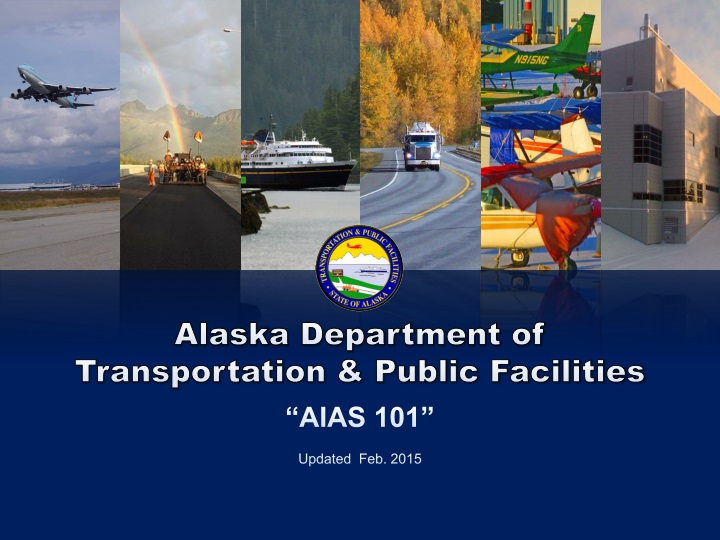 alaska department of transportation public n.