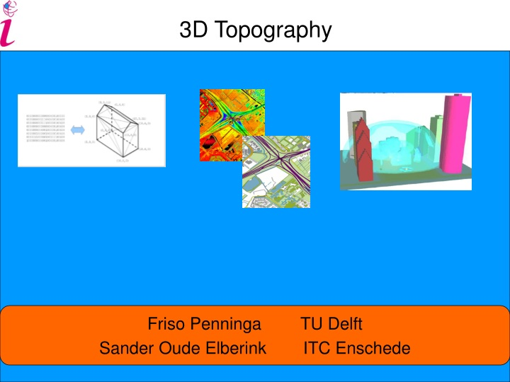 3d topography n.