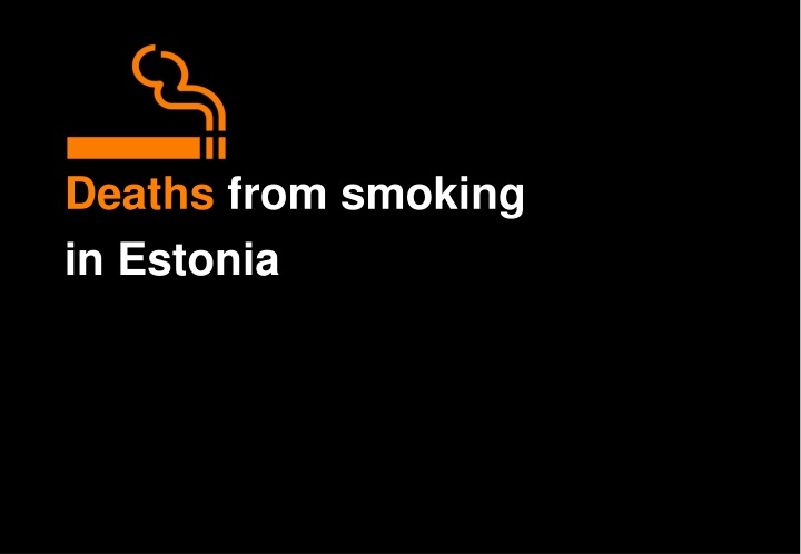 deaths from smoking n.
