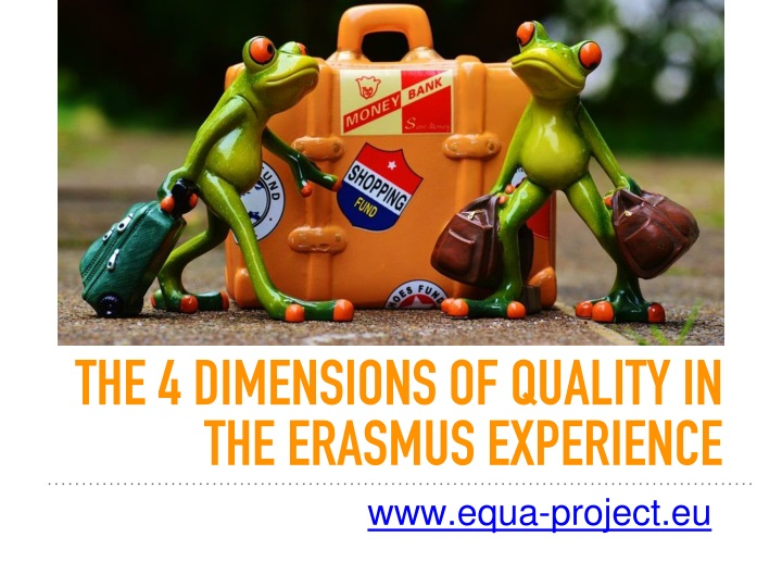the 4 dimensions of quality in the erasmus experience n.