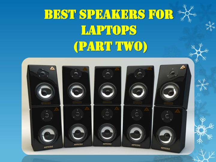 best speakers for laptops part two n.