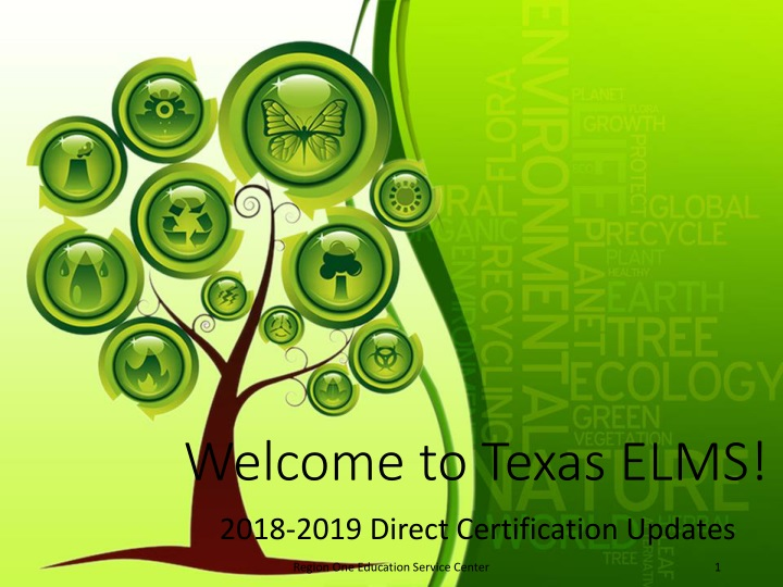 welcome to texas elms n.